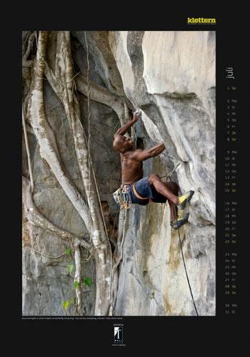 Klettern 2012 calendar July