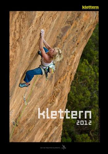 Klettern 2012 calendar cover