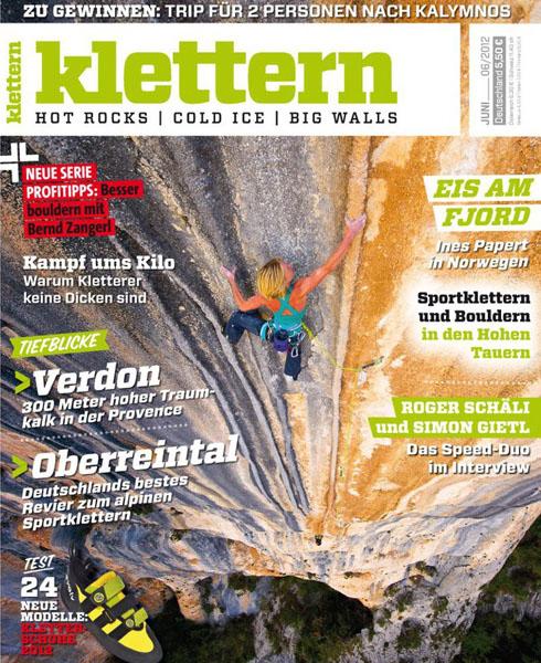 Klettern Magazine June 2012