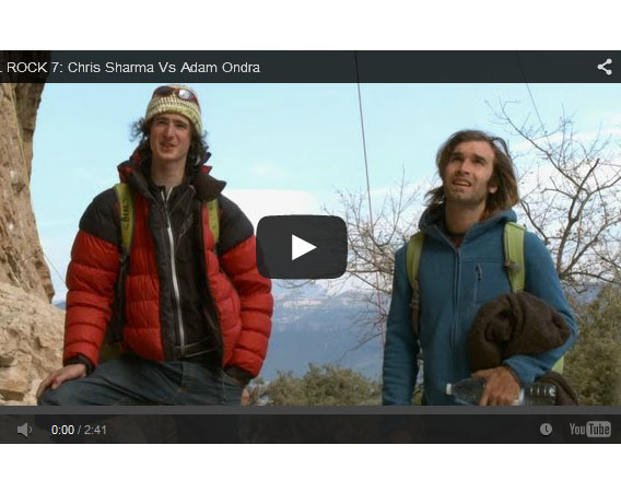 Chris Sharma & Adam Ondra trailer