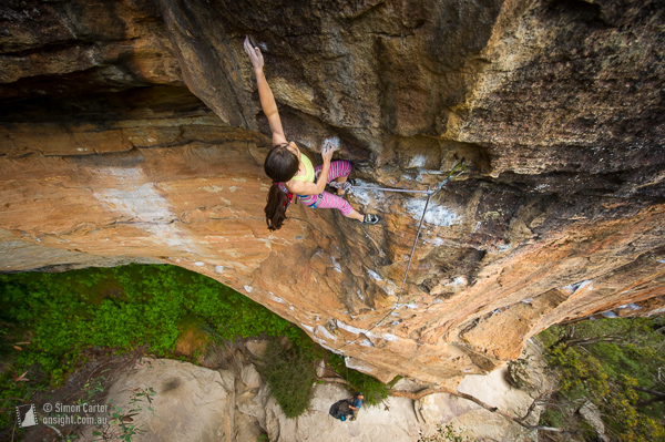 Angie Scarth-Johnson, Wrong Movements (27), Centennial Glen, Blue Mountains.