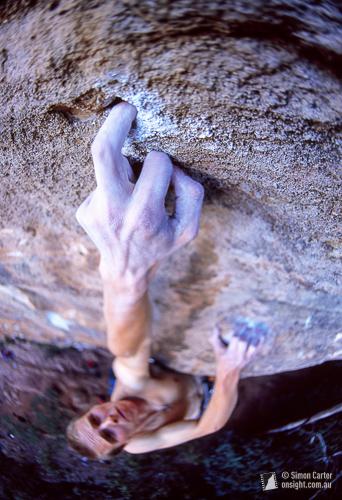 Jugs! Chris Webb Parsons high on Mechanical Animals (33), Boronia, Blue Mountains.