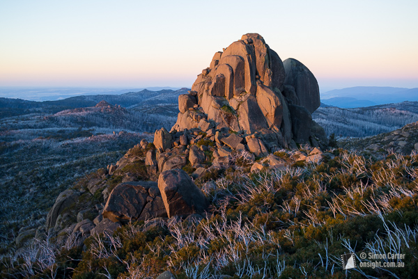 The Cathedral, Mount Buffalo.
