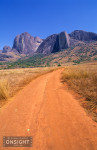 The road to Camp Catta, in the Tsaranoro Valley, Madagascar.