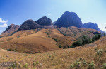 The Tsaranoro massif, Tsaranoro Valley, in the southern highlands of Madagascar.