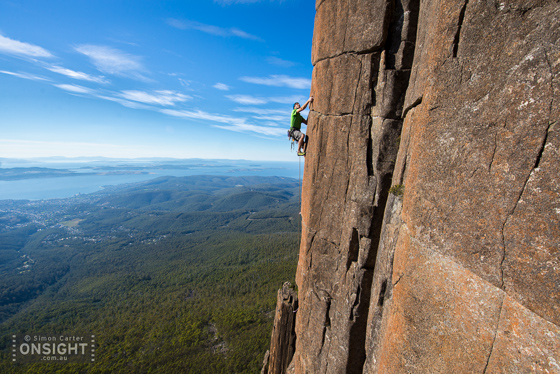 Andy Kuylaars, Once in a Lifetime, Mt Wellington, Tasmania.