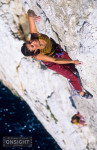 Chloé Minoret, Chipsy King (7a), Cape Morgiou, Les Calanques.