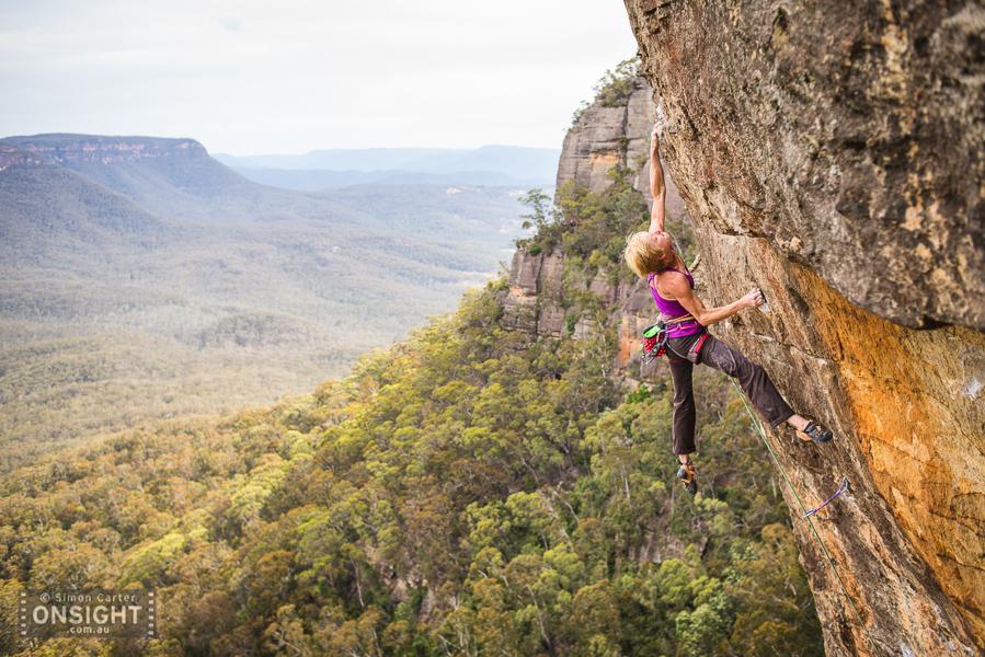 Monique Forestier, Tiger Cat (33), Elphinstone, Blue Mountains.