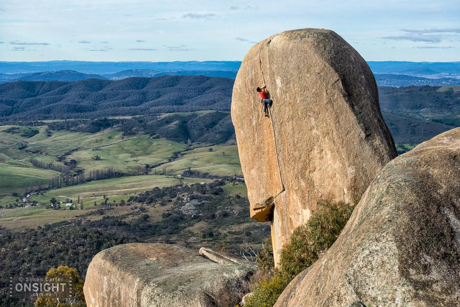 Alex Linge, Skylark (24), Gibraltar Peak, ACT.