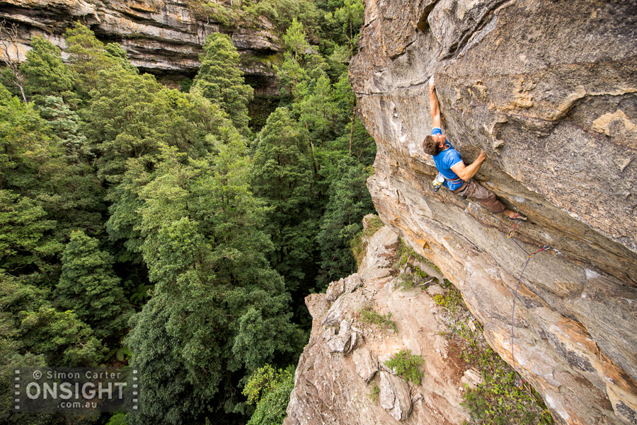 Emil Mandyczewsky, Problem Child (27), The Pit, Blue Mountains.