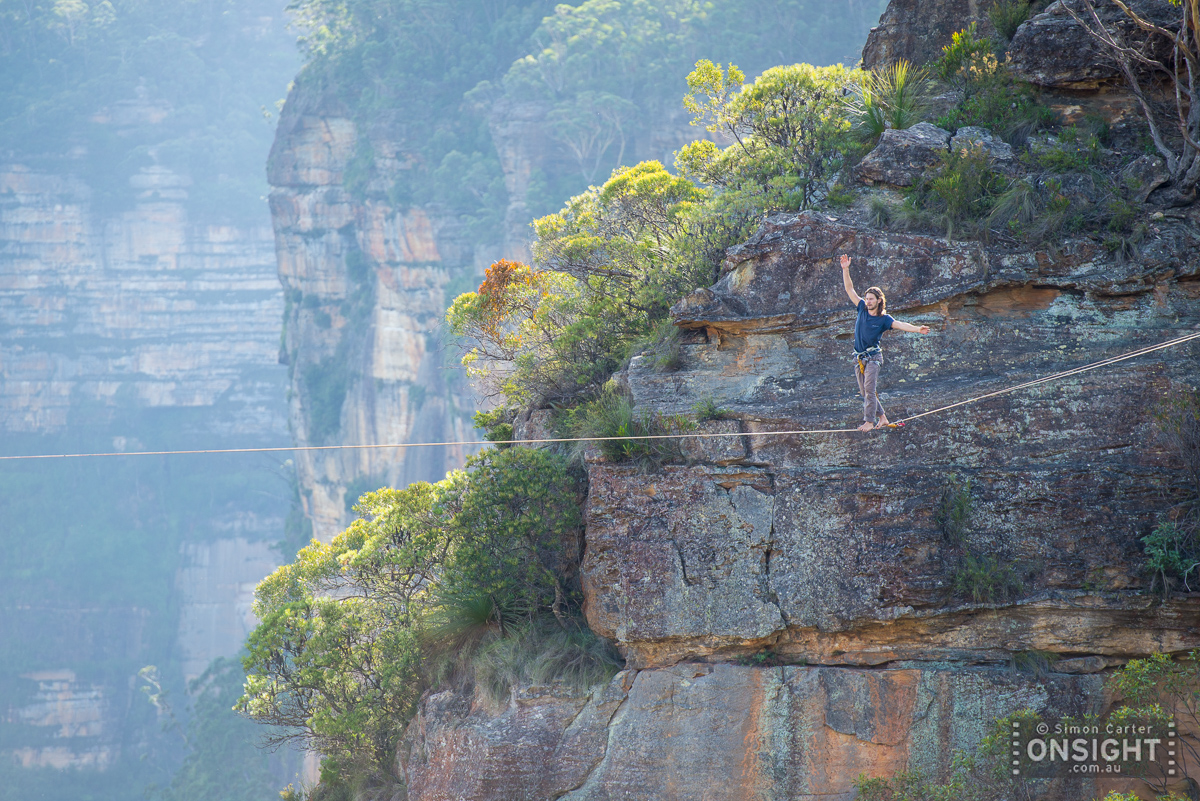 Gui Lopes battling the 70m line of The Fear, which was first established by Shane Yates and Luke Sarantos.