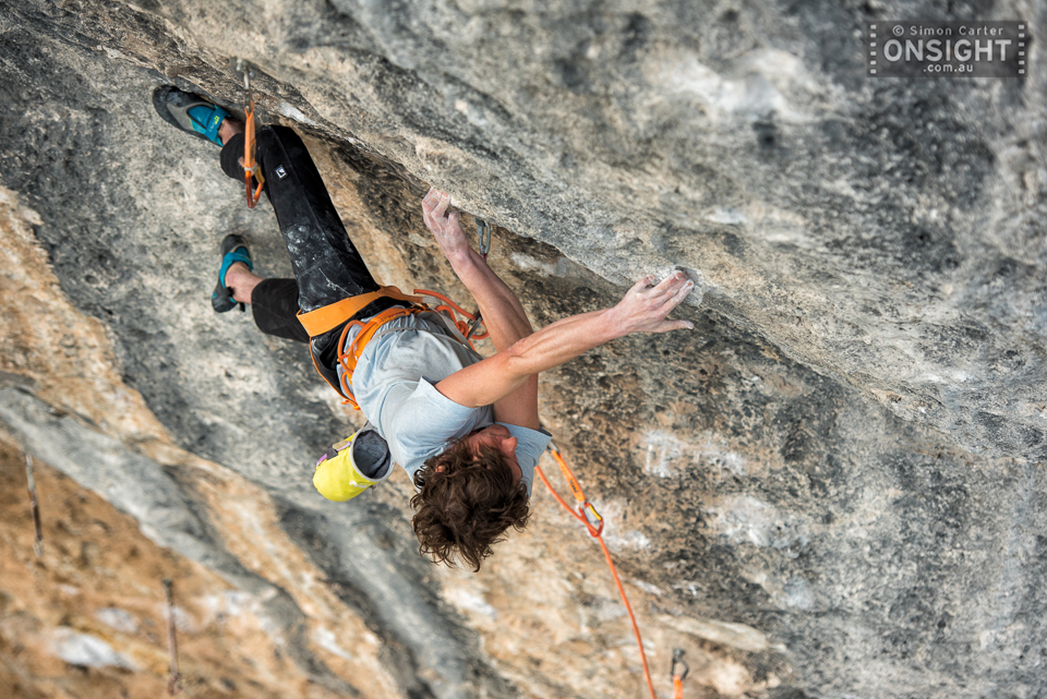 David Graham, Papichulo (9a+), Oliana, Spain.
