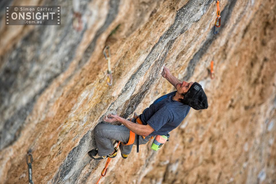 Daniel Woods, Fight or Flight (9b), Oliana, Spain.