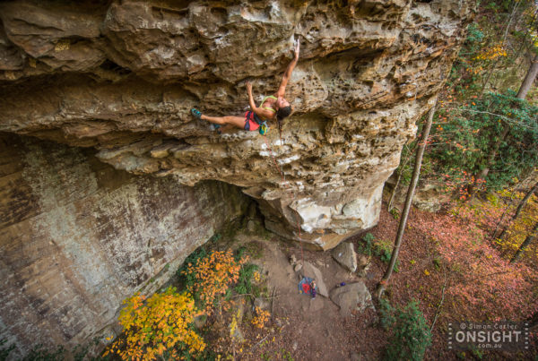 Tracey Hua, Singularity (12.c), The Portal, Miller Fork, Red River Gorge.